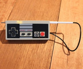 Light Theremin in a NES Controller