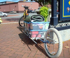 Single Wheeled Bike Trailer