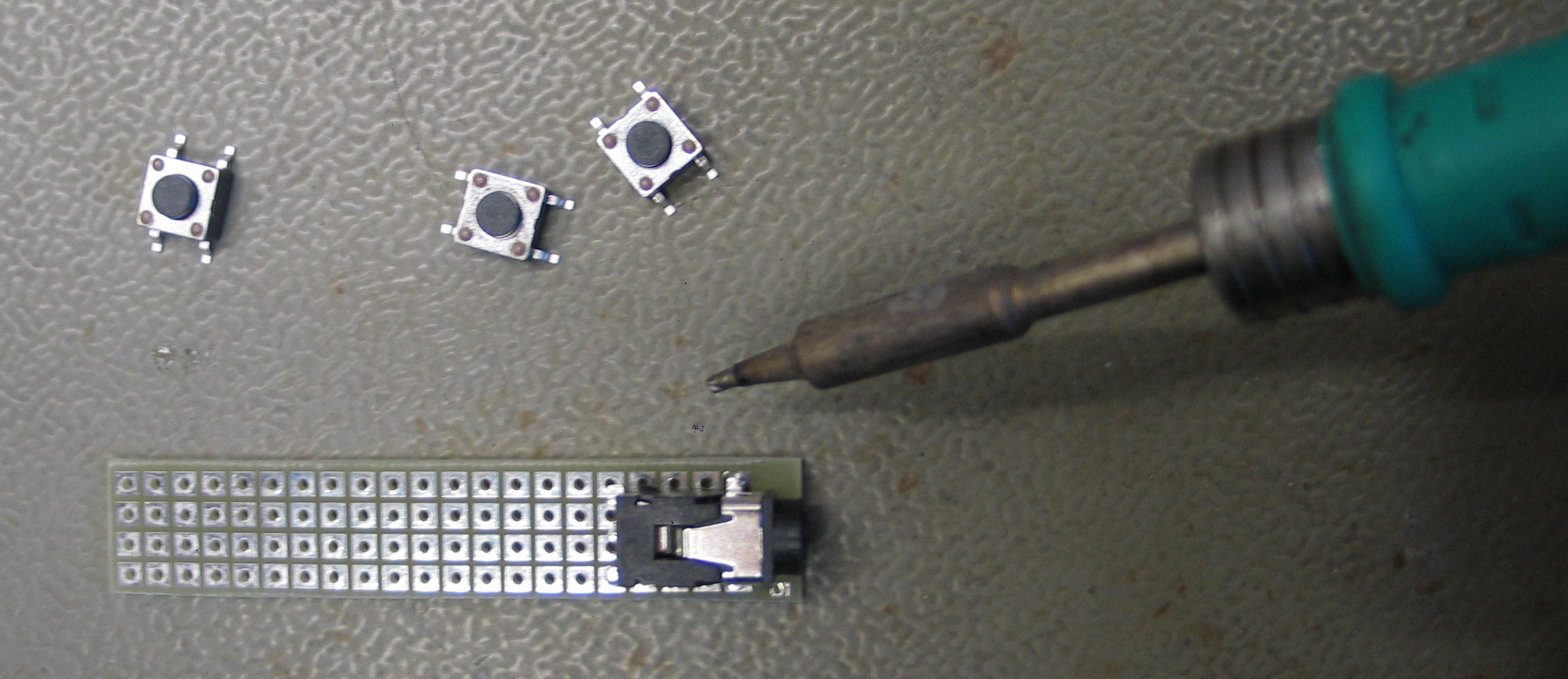 Picture of Soldering the Components