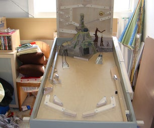 Homemade Indiana Jones Pinball Machine