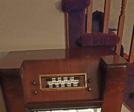 1948 Philco Radio / Phono Liquor Cabinet