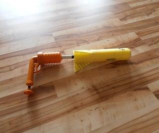 Foam Rocket With Launcher