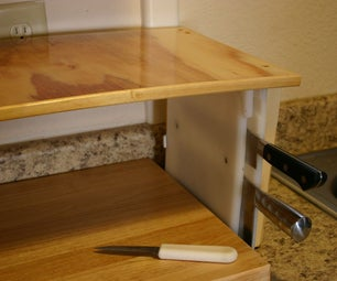 Easy-Entry Knife Block Disassembles for Cleaning