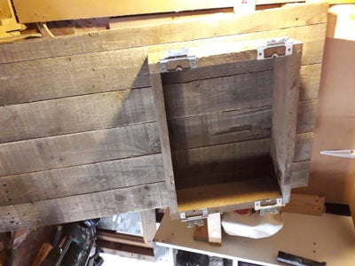 Dis-assembling the Large Cabinet Doors to Make Small Cabinet Doors and Frame
