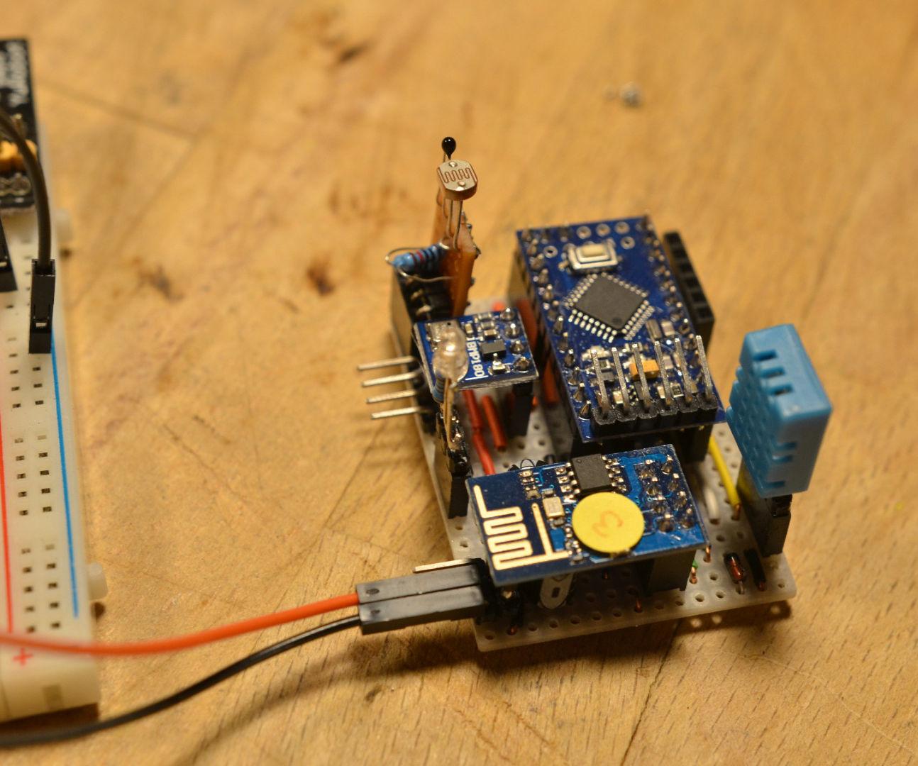 Arduino: ESP8266 Weather Station With Arduino