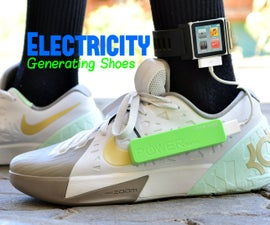Electricity Generating Footwear - Generate Electricity By Walking (Concept)