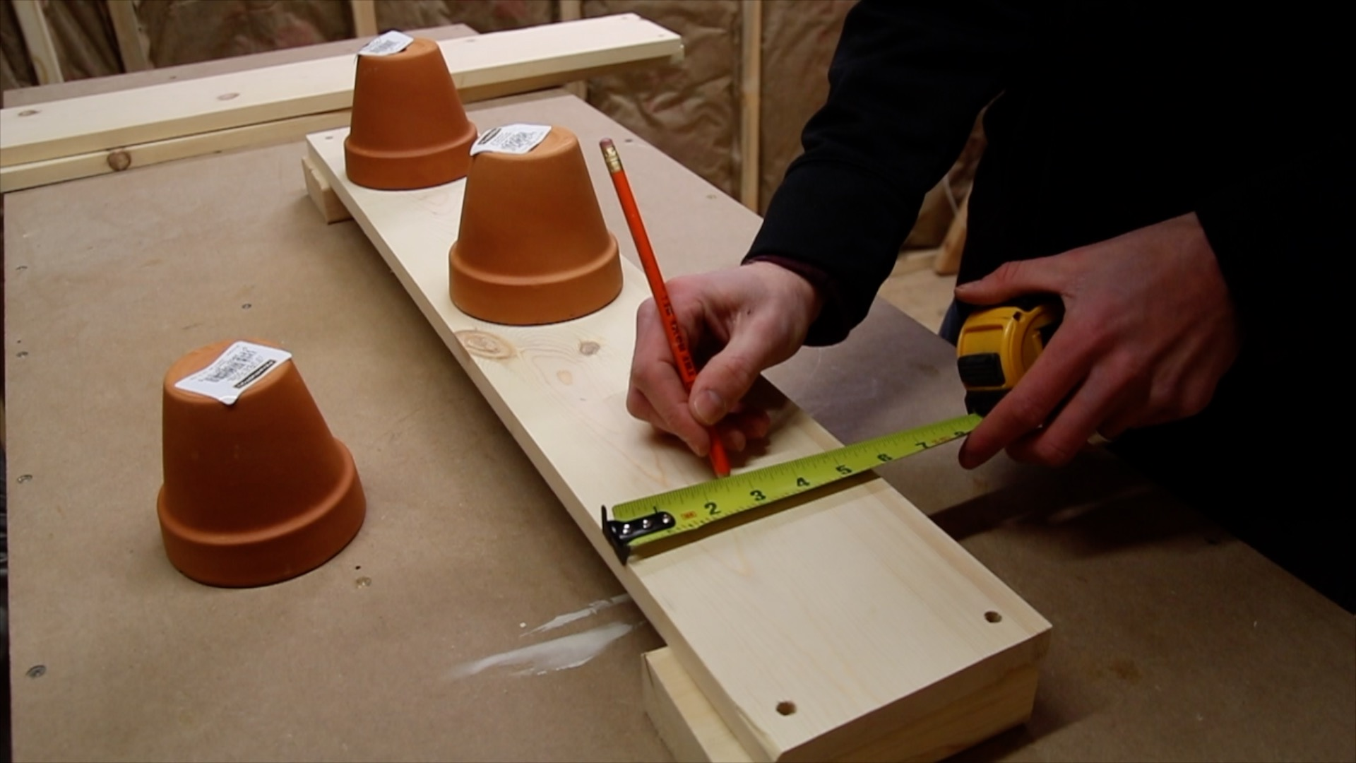 Picture of Cut Out the Holes for the Pots