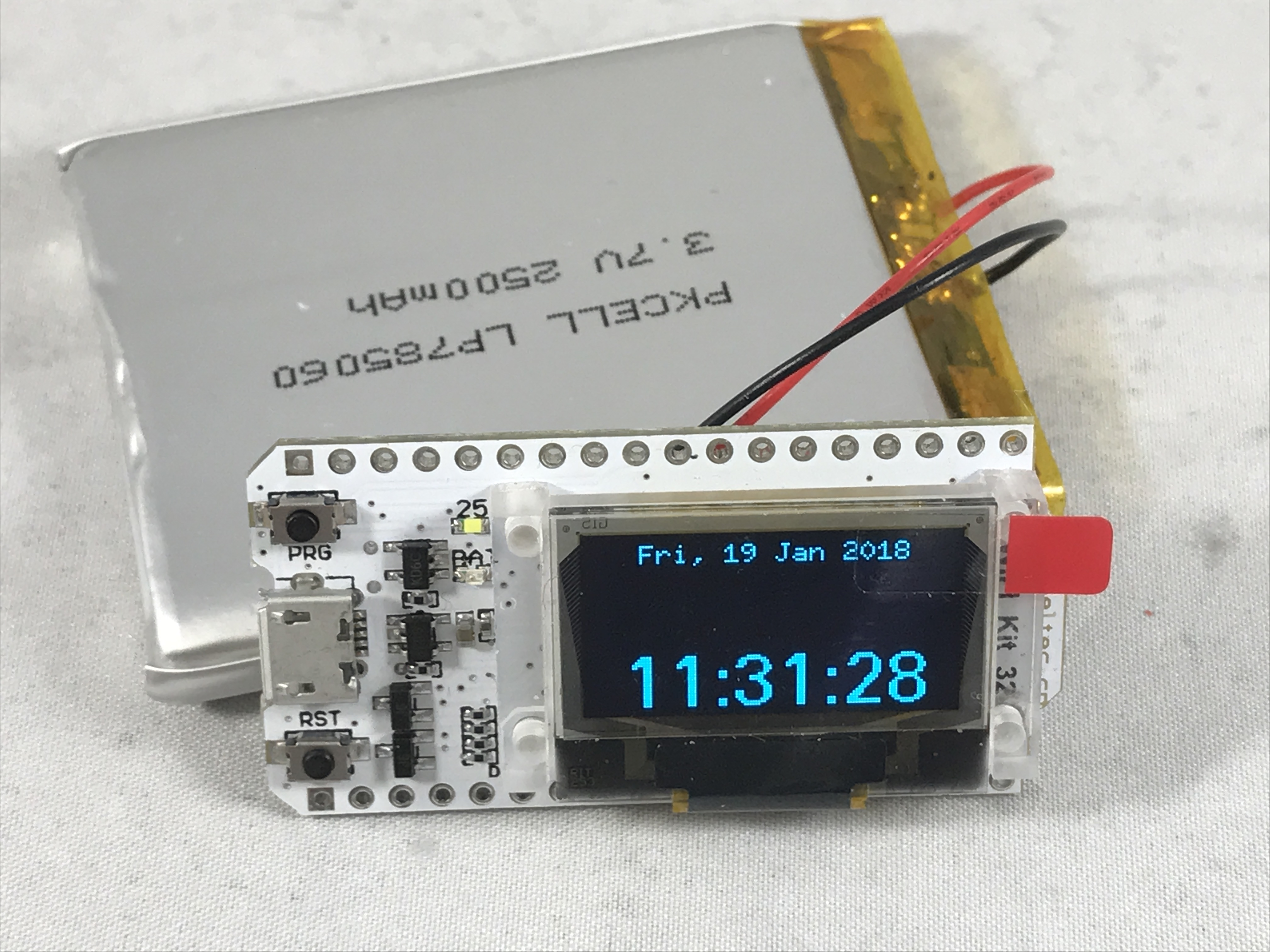 Picture of WiFi Kit 32 NTP Clock