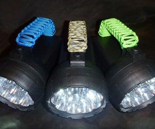 Spotlight Paracord Handle Grip