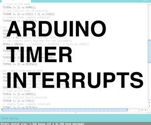 Arduino Timer Interrupts