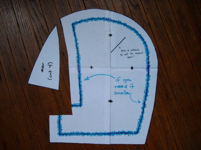 Cut Out Your Pattern Pieces!