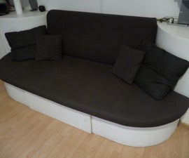 DIY stylish sofa-bed