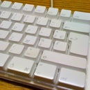 Washed your white Apple Keyboard