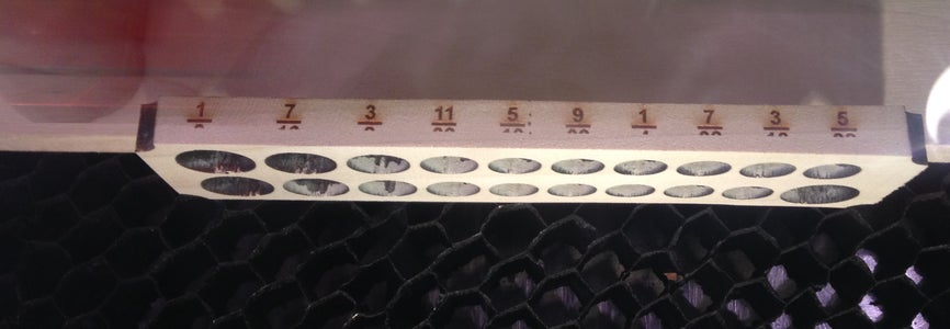 Laser Engrave the Socket Sizes
