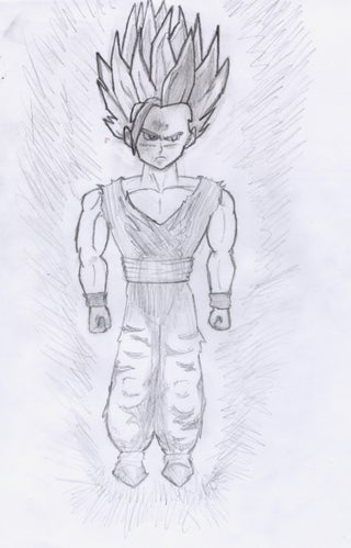 My Dragon Ball Z Drawings Instructables