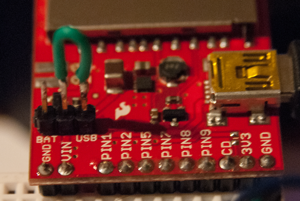 Picture of Wiring and Programming the Electric Imp With an LCD Display