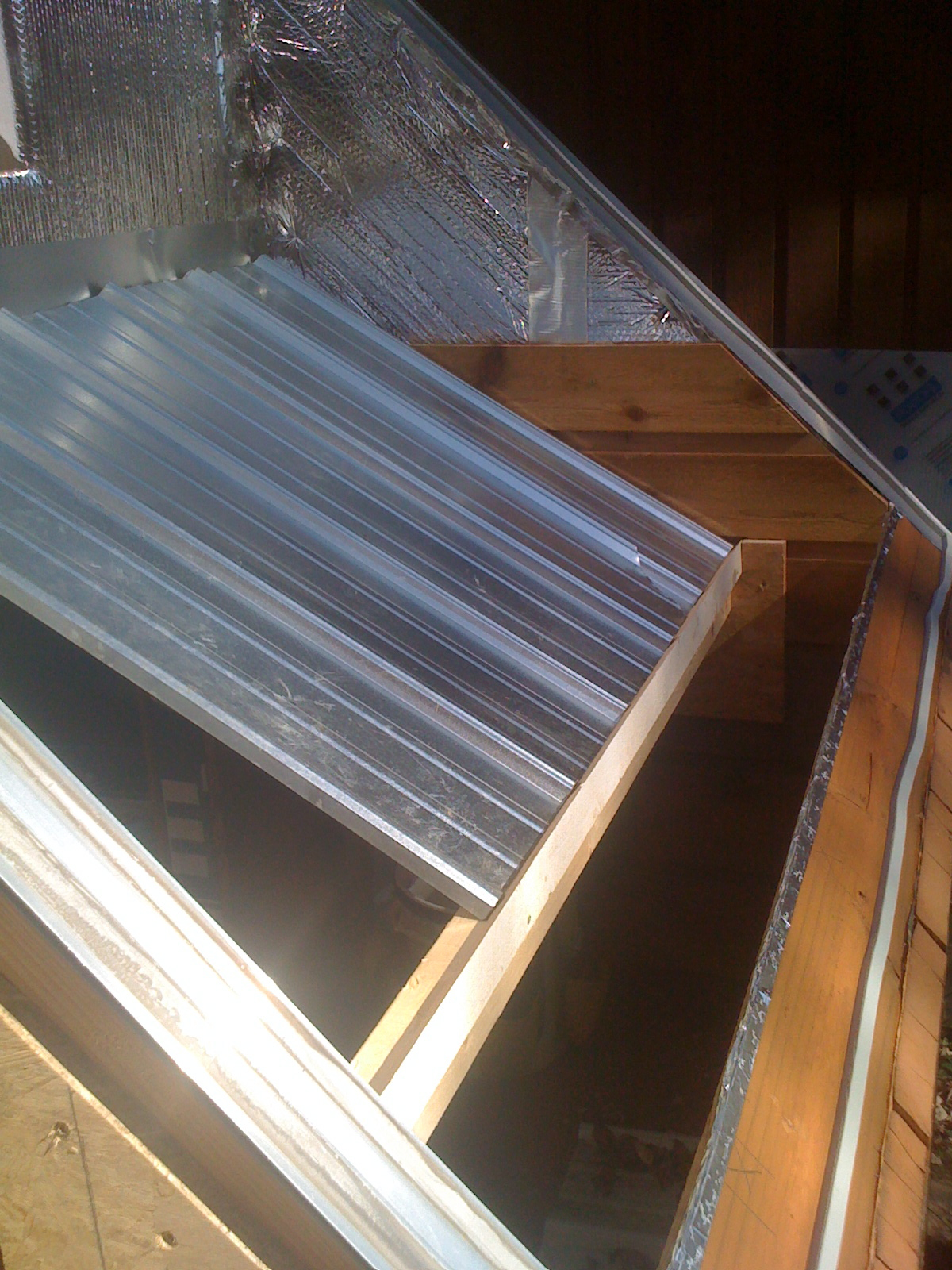 Picture of Building the Solar Collector
