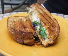 Grilled Eggplant Sandwich (Vegetarian)