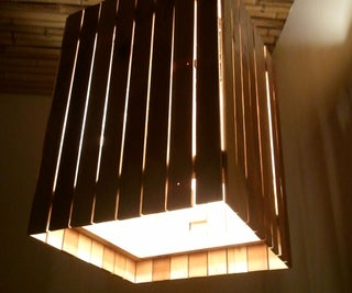 Reclaimed Wood Light