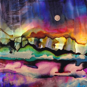 Alcohol Ink Dreamscaping
