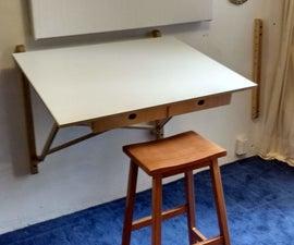 CNC Wall Mounted Desk