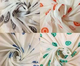 How to Block Print Fabric - Quick DIY Tutorial