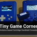 Arduino Based Cartridge Game Console - Tiny Game Corner