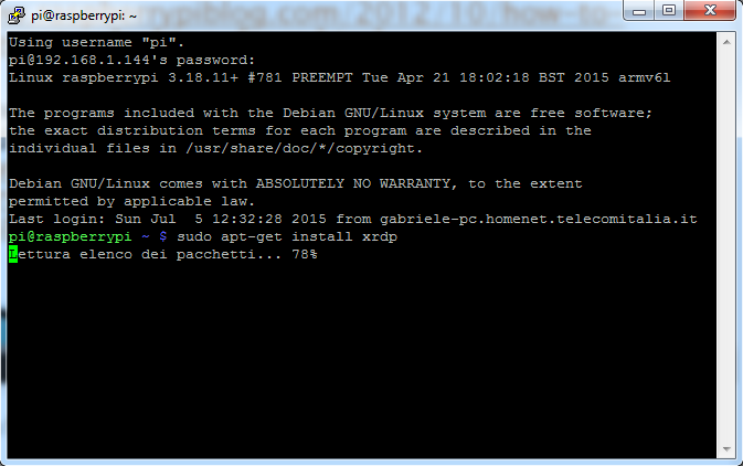 Picture of Install Xrdp