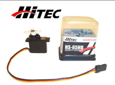 How to Modify a Hitec HS-65HB Servo W/Kryptonite Gears for Continuous Rotation