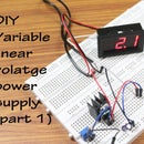DIY Variable linear voltage power supply-Part 1