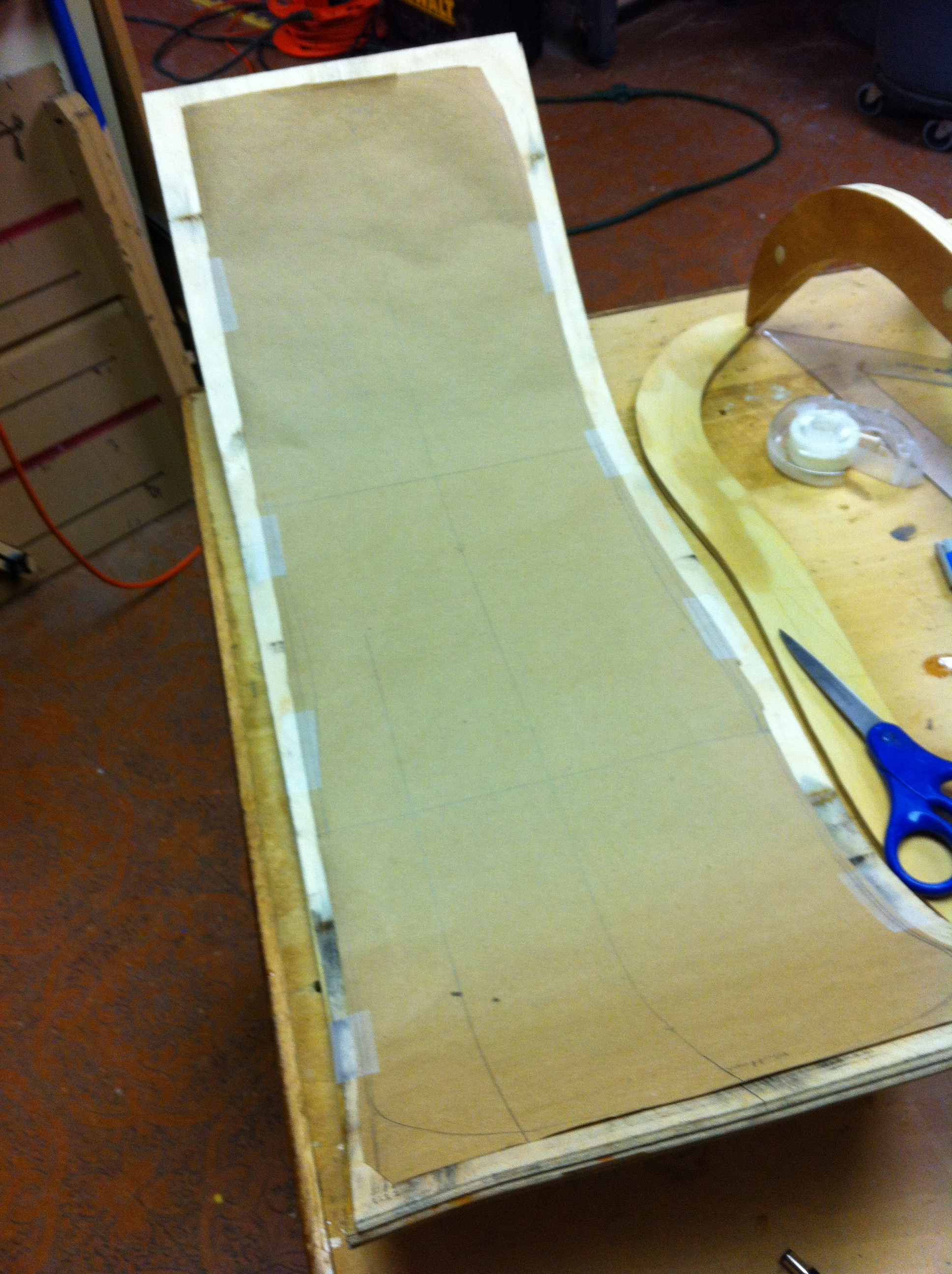 Picture of Trim the Seat to Size
