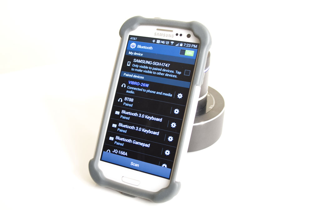 Picture of Enable Bluetooth Settings on Smartphone