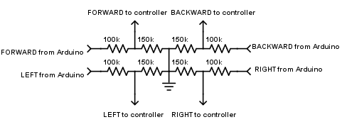 Picture of Voltage Divider Circuit