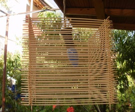 Bamboo Skewers Party/Garden Lamp