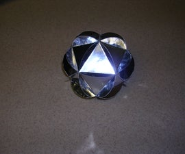 Icosahedron Christmas Ornament