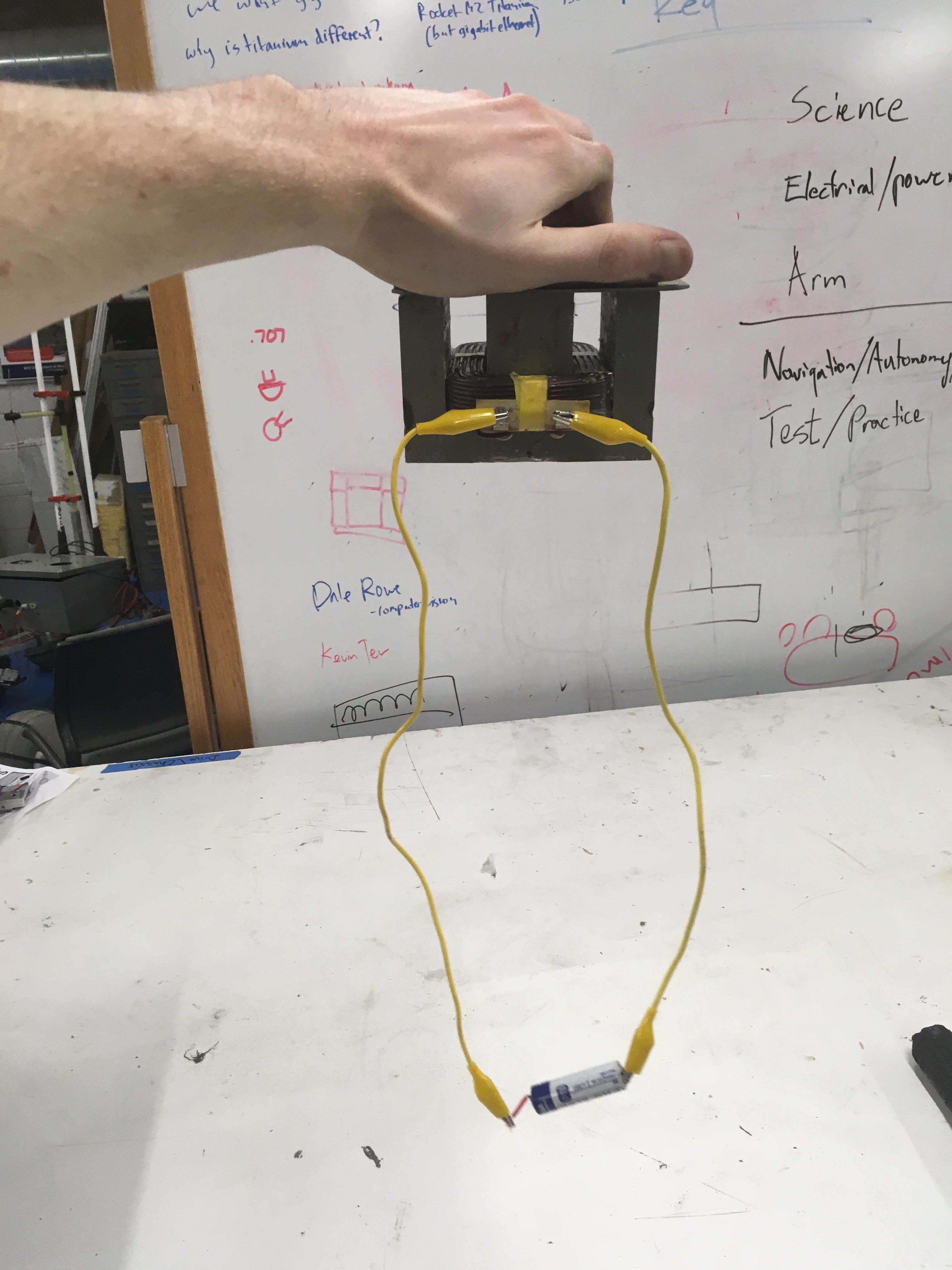 Picture of Connect Power to the Coil and Have Fun