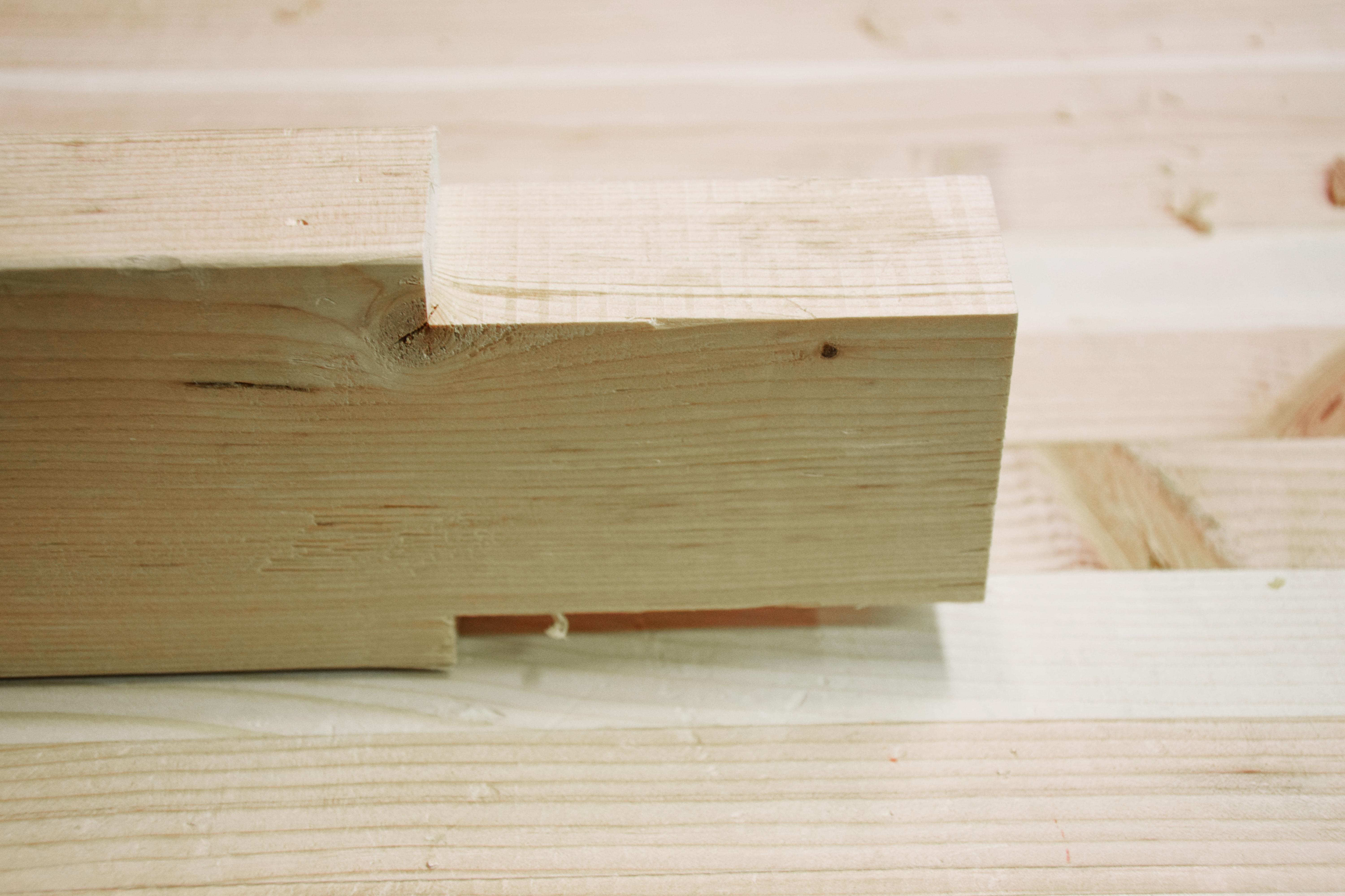Picture of Cut Tenons