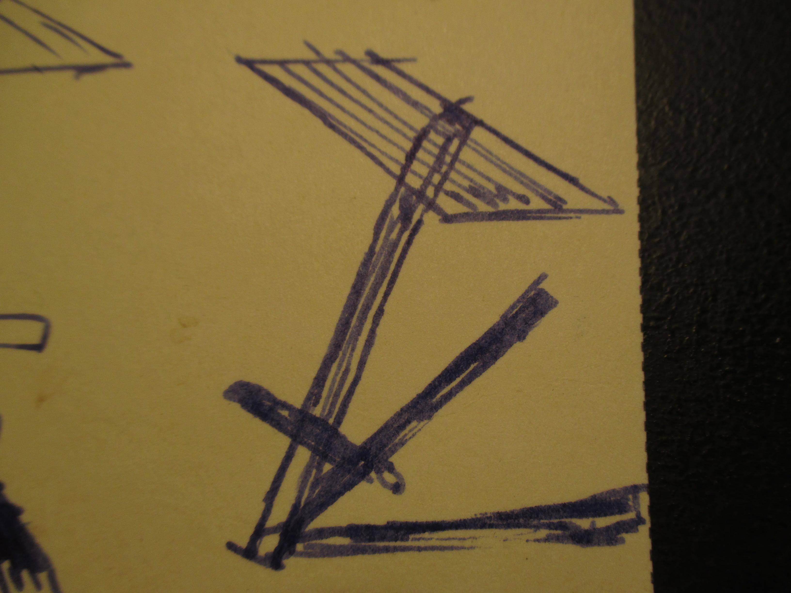Picture of Industrial Looking Metal Stool