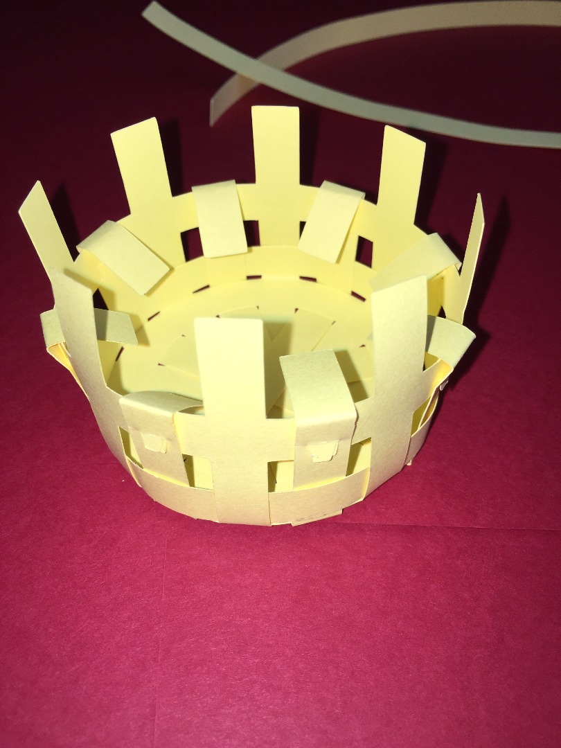 Picture of Step 17: Basket Weaving