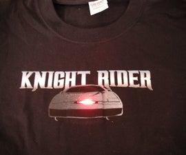 LED Knight Rider T-shirt