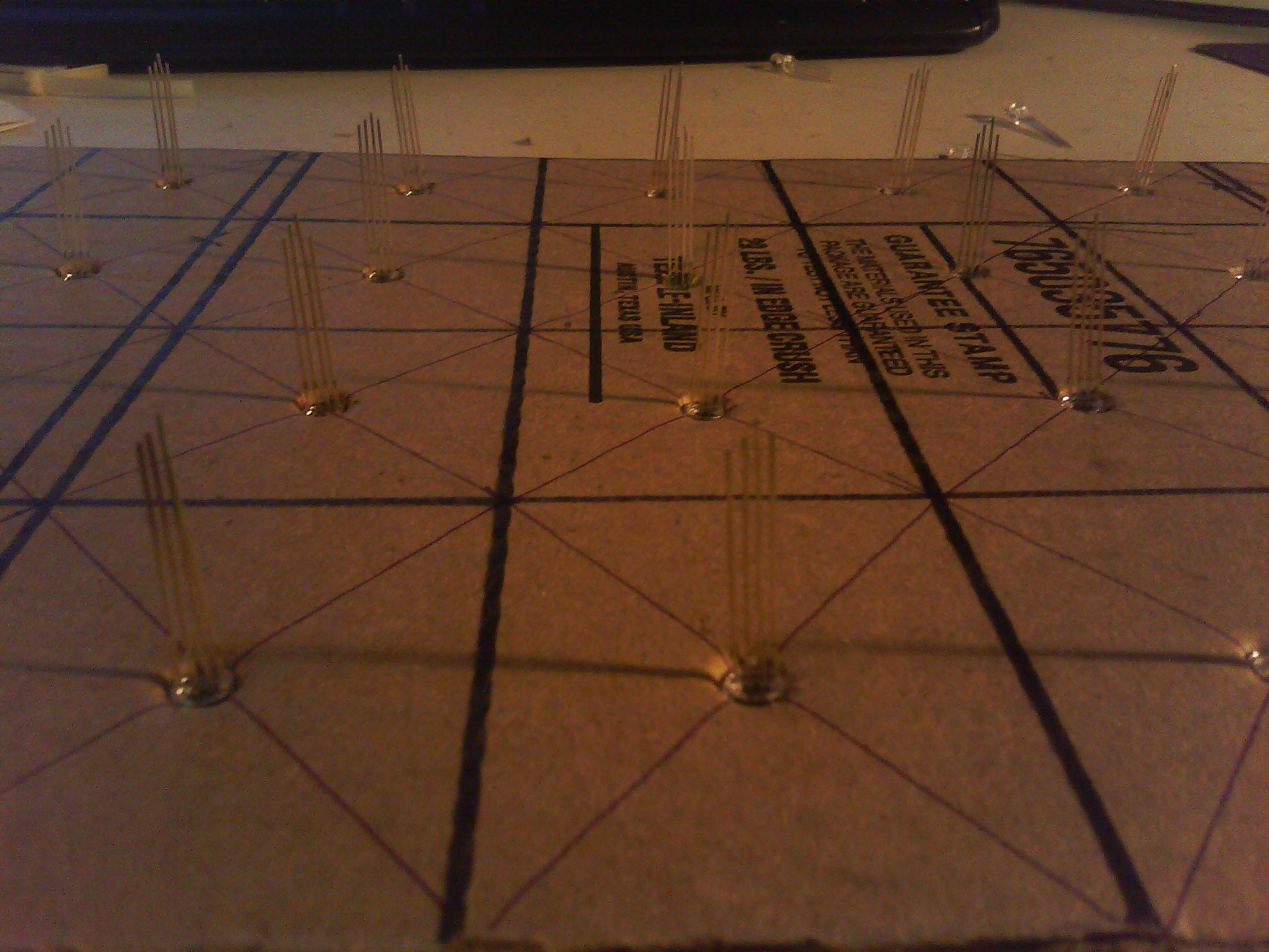 Picture of Build the 4 X 7 RGB LED Matrix