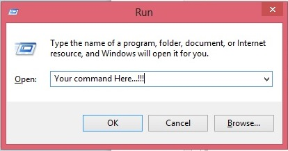 Picture of Create Your Own Run Command by Easy Step