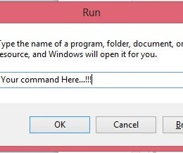 Create Your Own Run Command by Easy Step