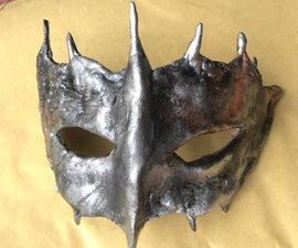 Make a Unique Quicksilver Mask Moulded From Your Face