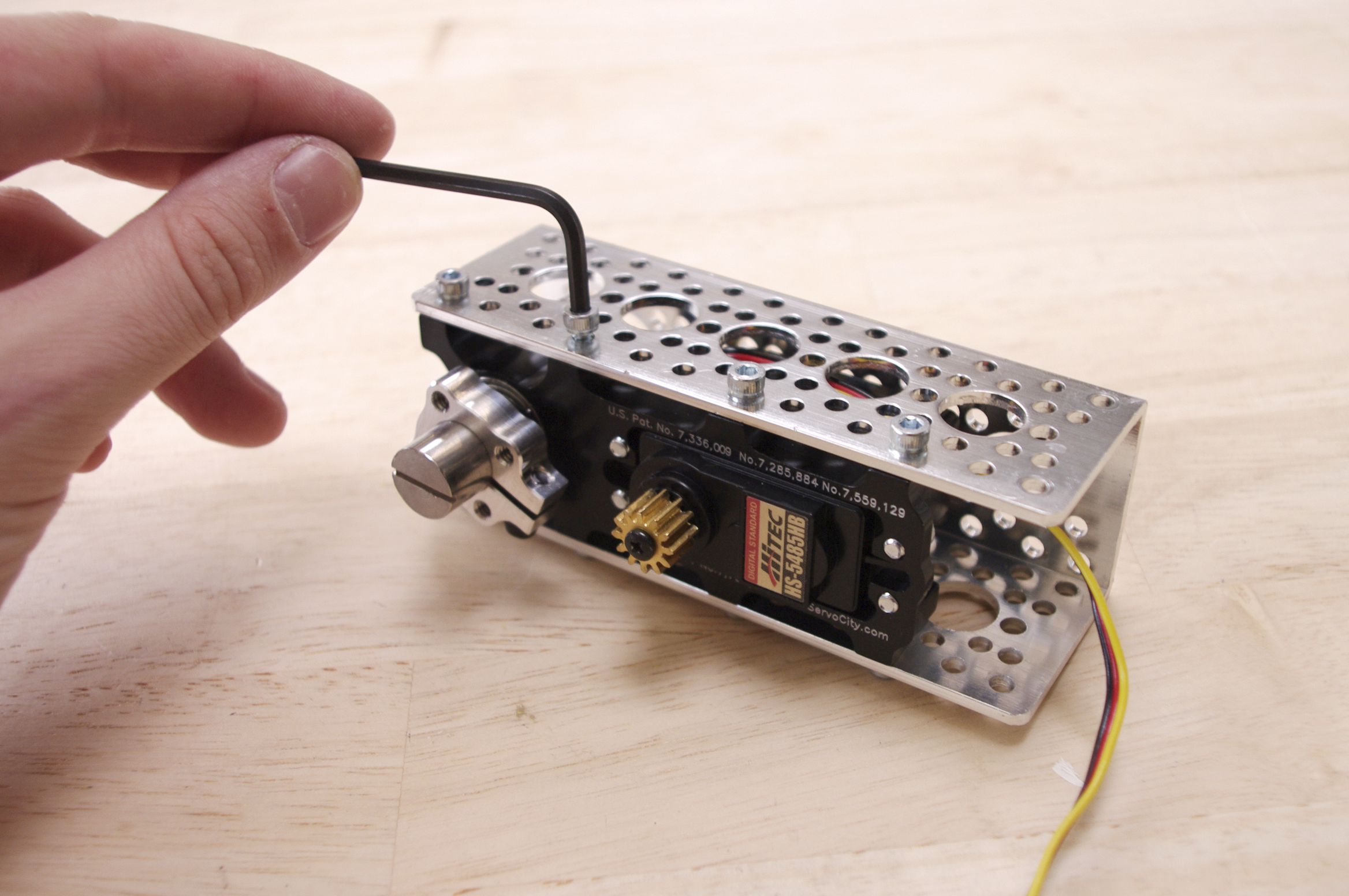 Picture of First Servo Assembly