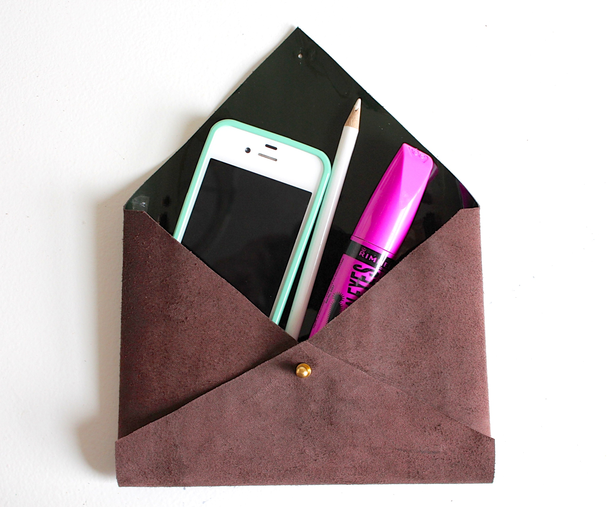 Picture of Envelope Clutch Tutorial + Pattern