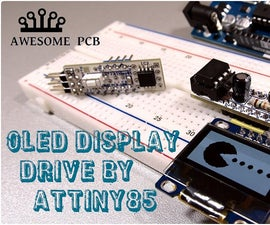 How to convert bitmap graphics for OLED SSD1306 display run by ATtiny85
