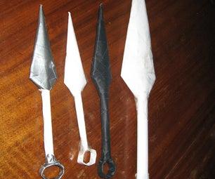 Paper Kunai Knife Naruto Easy and Cheap
