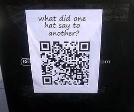 QR Code Bad Jokes