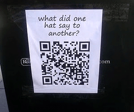 QR Code Bad Jokes
